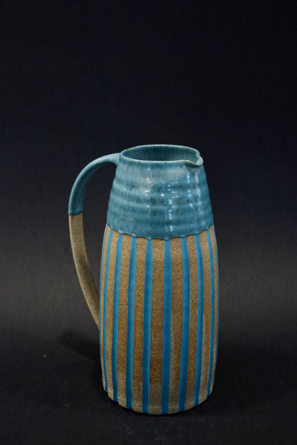 Kate Garwood Green Jug, 2019 Ceramic 20 x 15 x 10 cm 7 7/8 x 5 7/8 x 4 in