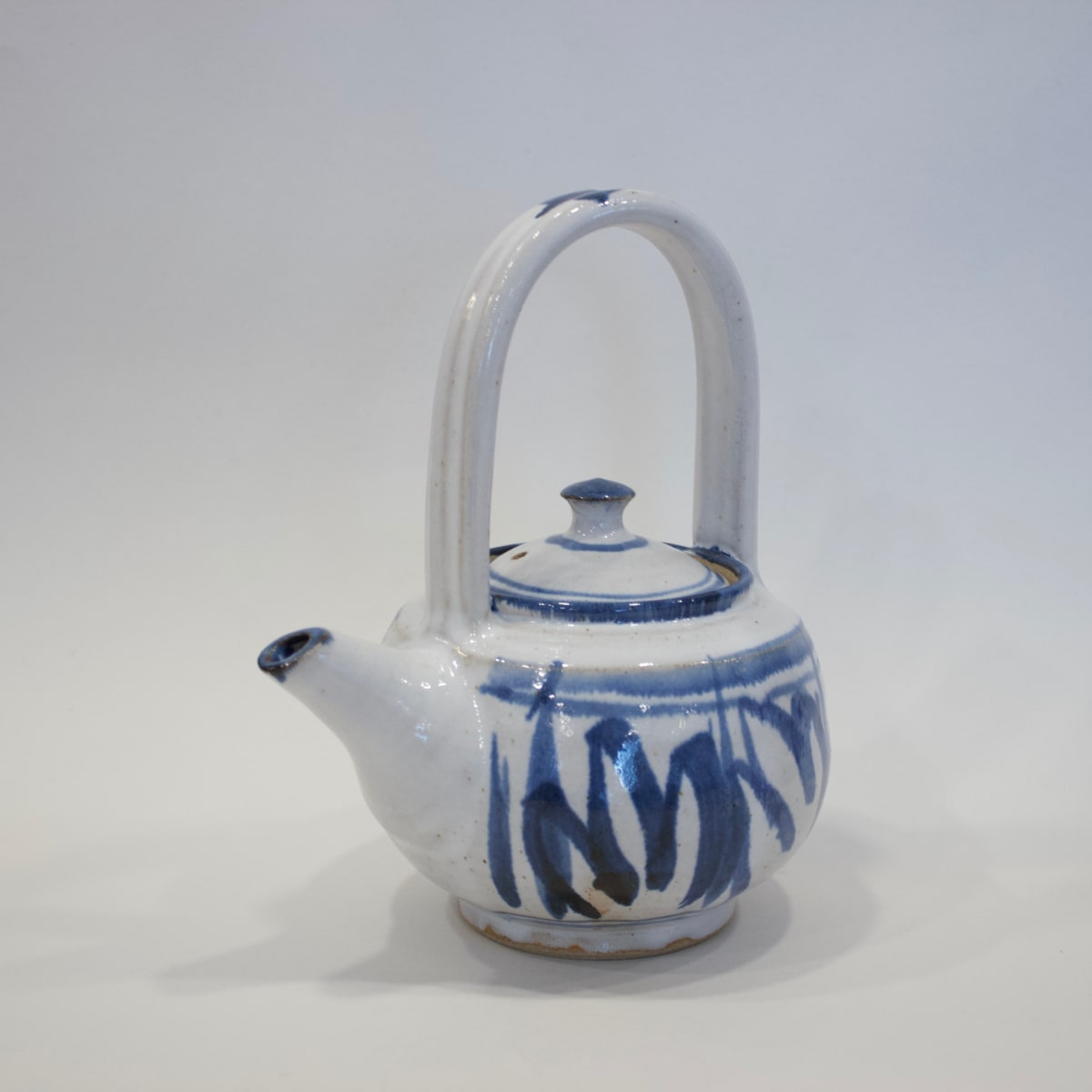 Robyn Cove Painted Teapot, 2019 Stoneware 22 x 18 x 14 cm 8 5/8 x 7 1/8 x 5 1/2 in