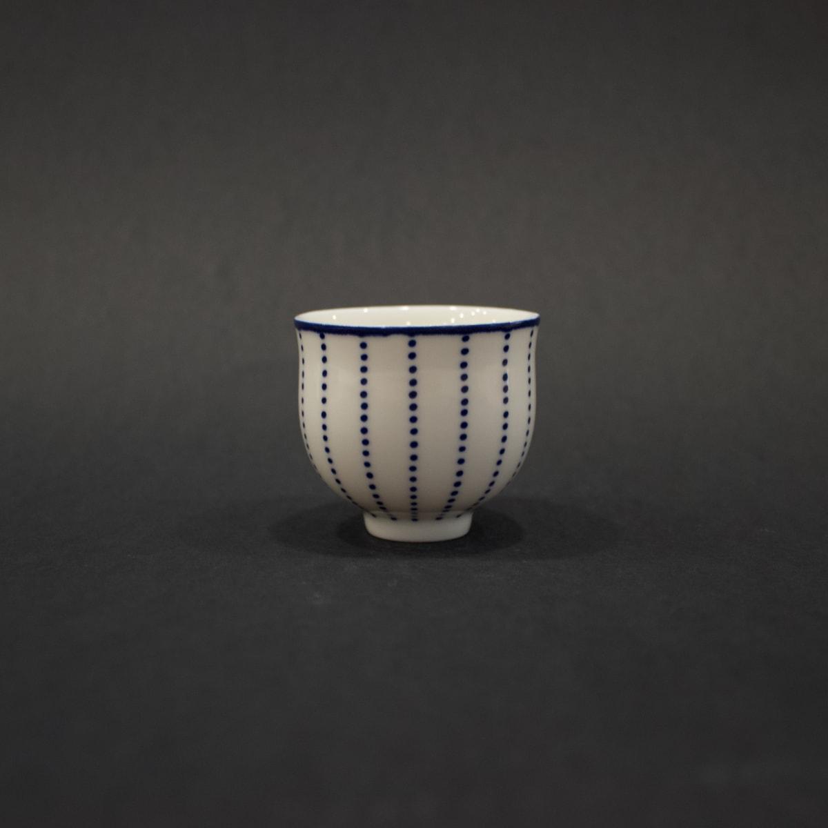 Rhian Malin Dotty Cup, 2019 Porcelain 5.5 x 6 x 6 cm 2 1/8 x 2 3/8 x 2 3/8 in