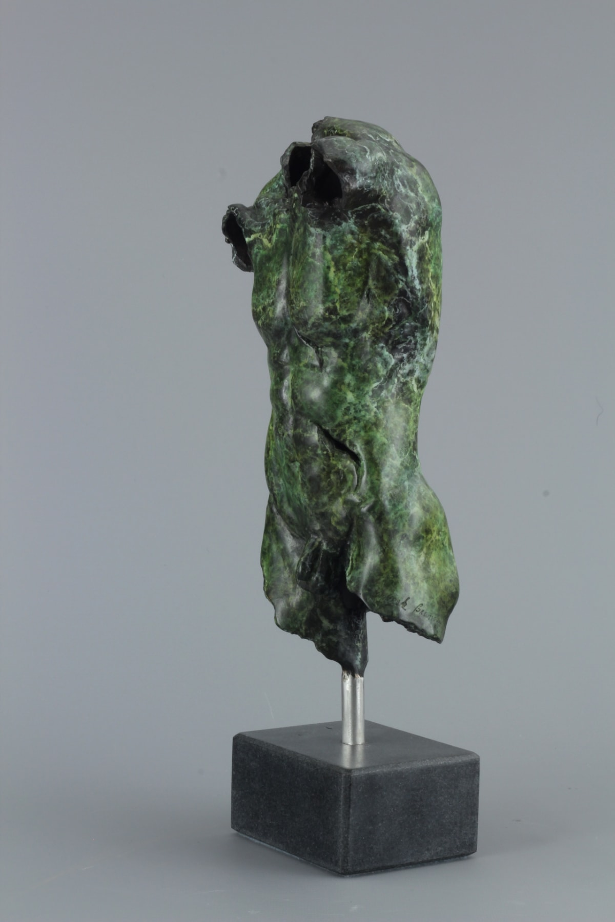 Mirek Brandejs Small Male Torso, 2018 Bronze Sculpture 35 x 11 x 8 cm 13 3/4 x 4 3/8 x 3 1/8 in Edition 1 of 30