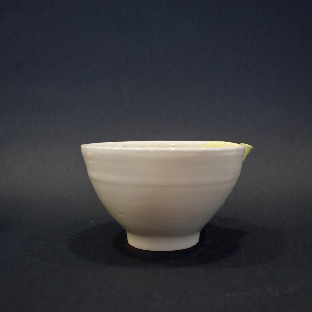 Alice Funge Small Bowl Yellow, 2019 Stoneware 9.5 x 15 x 16 cm 3 3/4 x 5 7/8 x 6 1/4 in