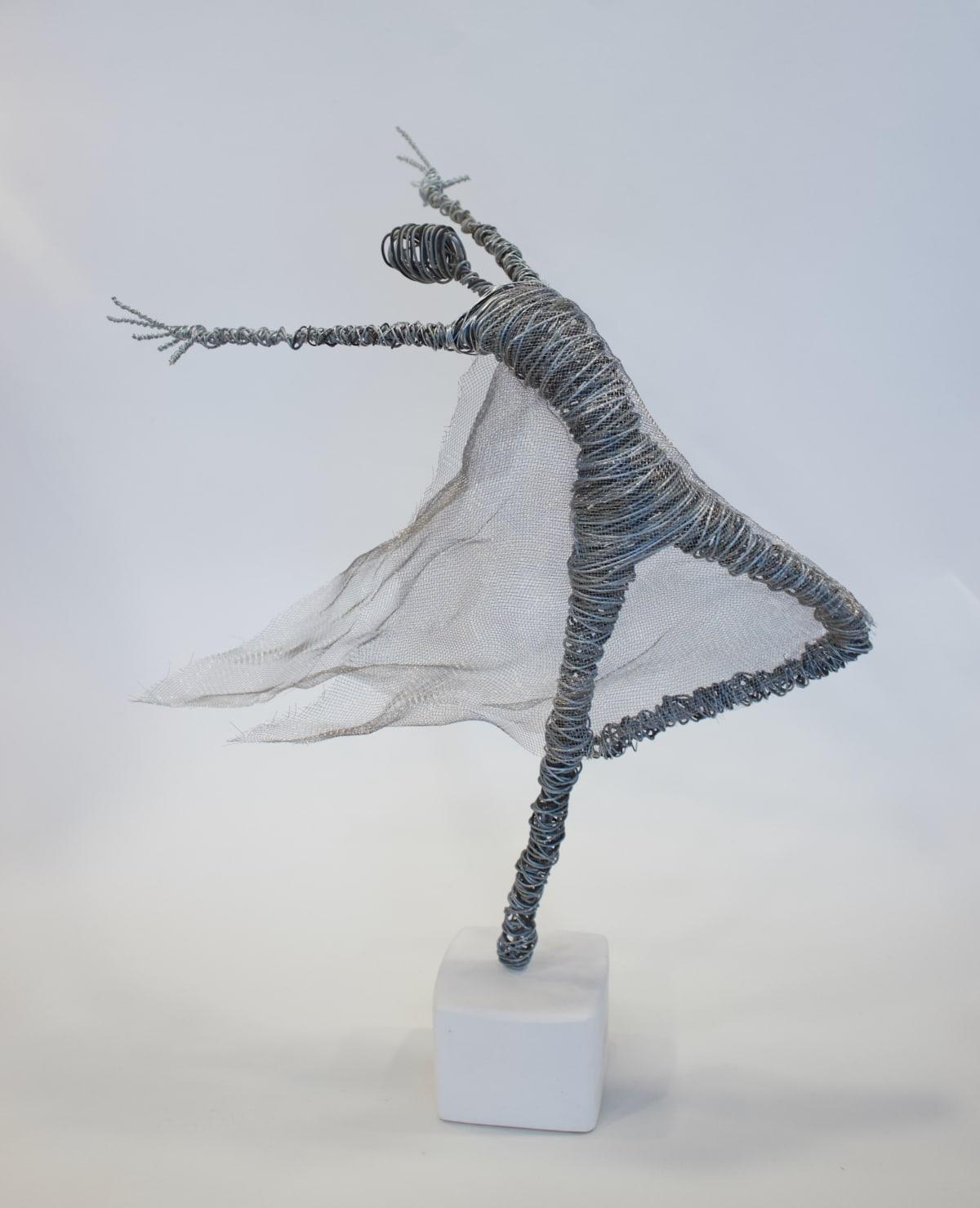 Rachel Ducker Mesh Dance, 2019 Wire Sculpture 33 x 33 x 20 cm 13 x 13 x 7 7/8 in