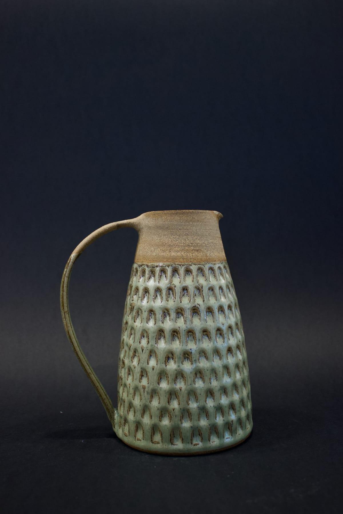 Kate Garwood Green Jug, 2019 Ceramic 18 x 14.5 x 10.5 cm 7 1/8 x 5 3/4 x 4 1/8 in
