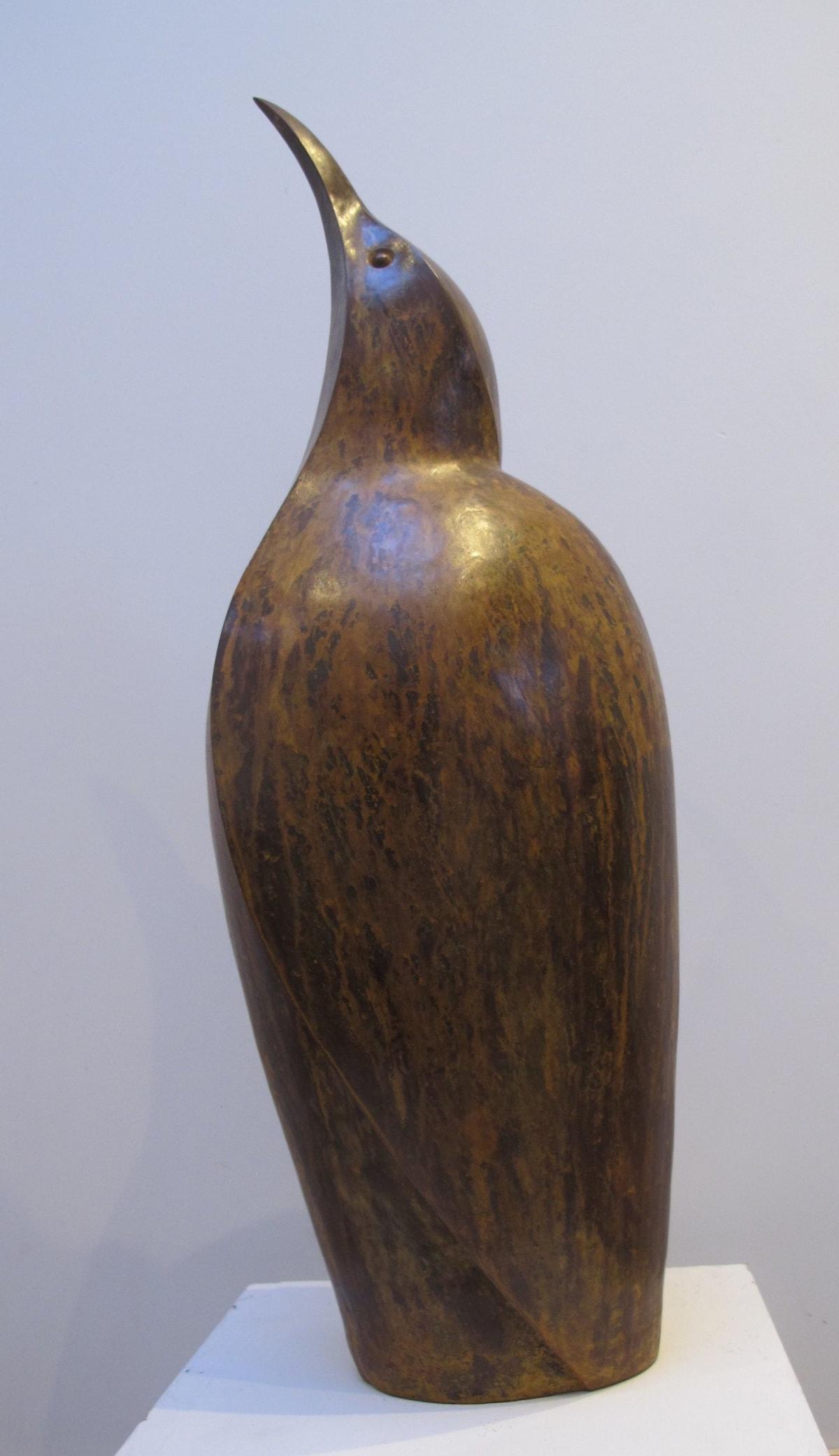 Paul Harvey Bittern, 2019 Mixed Media Sculpture Mixed Metal Resin 69 x 16 x 22 cm 27 1/8 x 6 1/4 x 8 5/8 in Open Edition