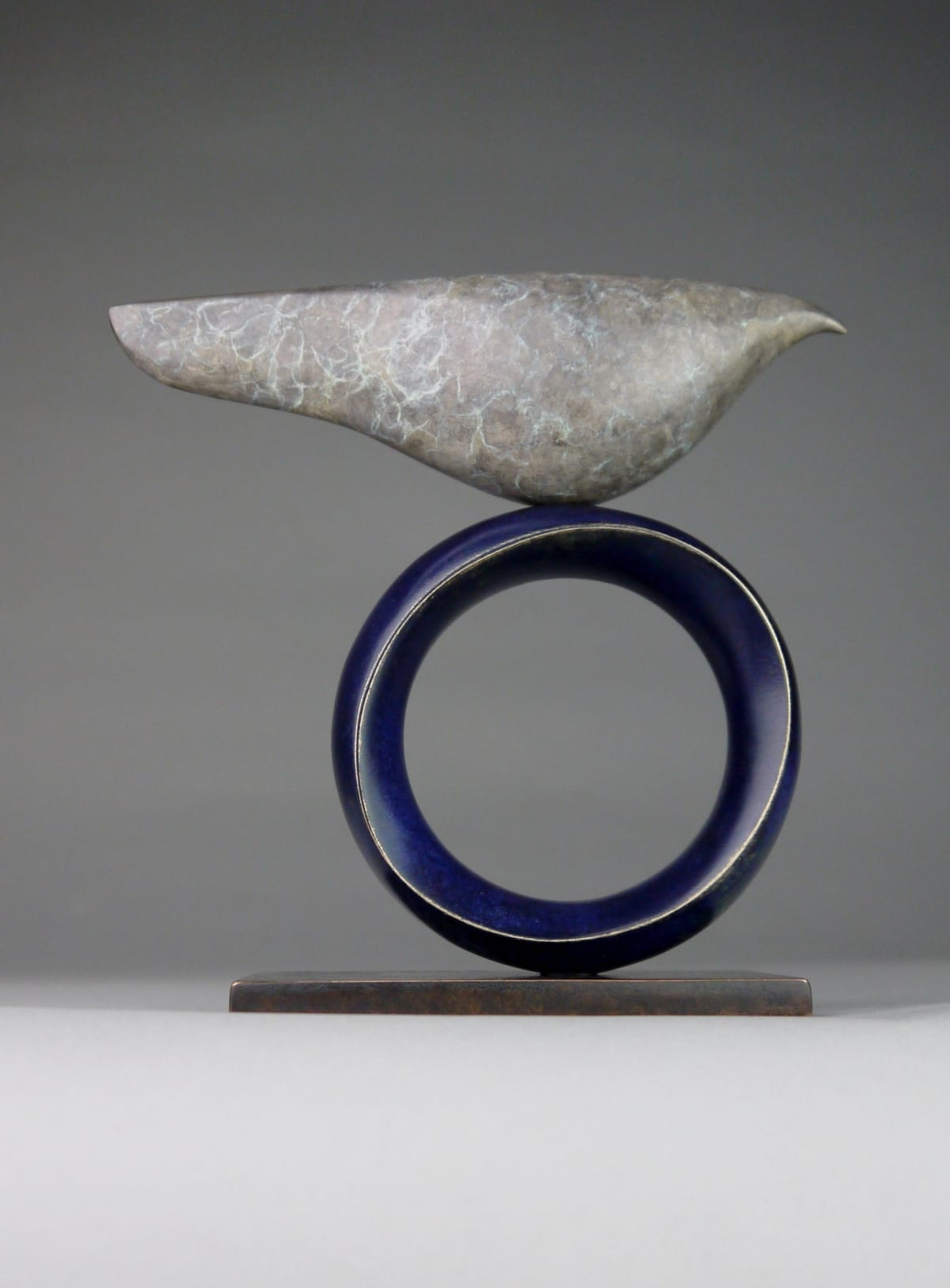 Stephen Page Venus Bird, 2019 Bronze Sculpture 14 x 14 x 6 cm 5 1/2 x 5 1/2 x 2 3/8 in Edition 20 of 25