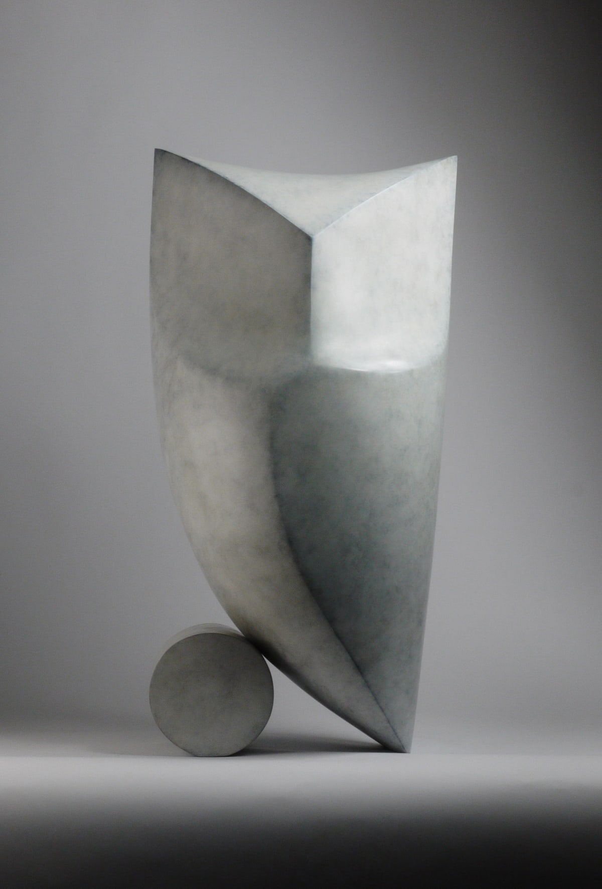 Stephen Page Owl II, 2018 Bronze Sculpture 57 x 29 x 26 cm 22 1/2 x 11 3/8 x 10 1/4 in Edition 3 of 12