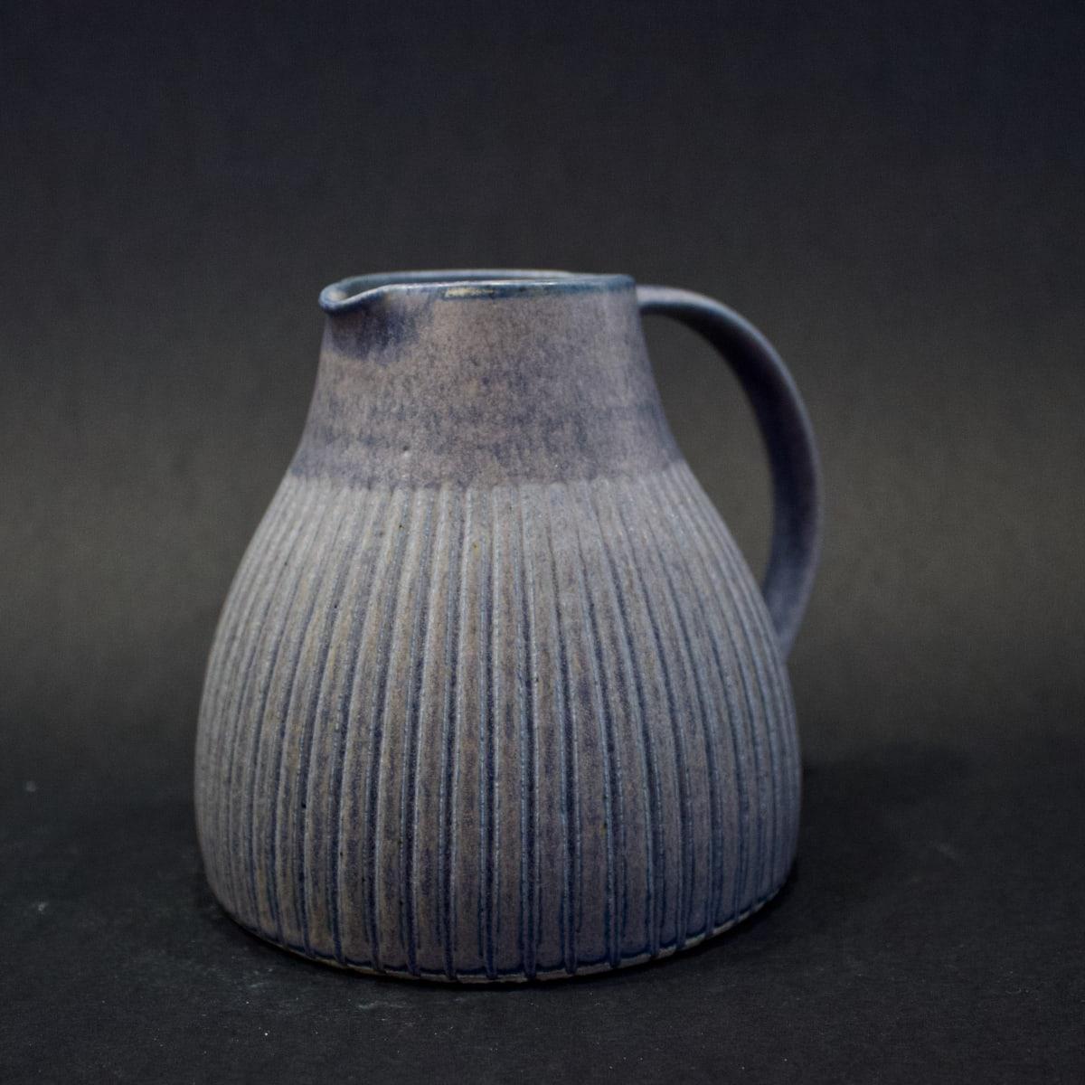 Kate Garwood Squat Purple Jug, 2019 Ceramic 12 x 14 x 12 cm 4 3/4 x 5 1/2 x 4 3/4 in