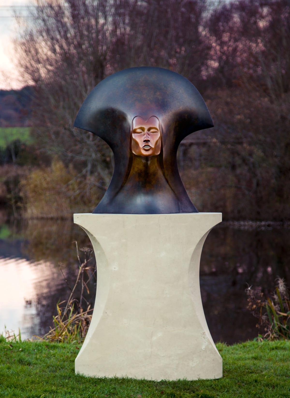 Simon Gudgeon Whispering Spirit, 2018 Bronze Sculpture 88 x 86 x 40 cm 34 5/8 x 33 7/8 x 15 3/4 in Edition 2 of 9