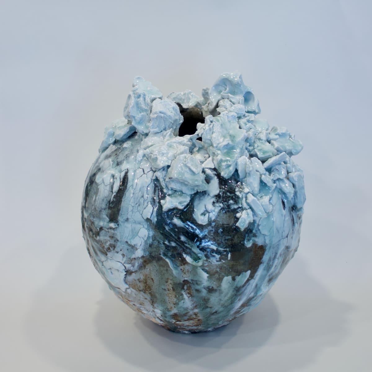 Akiko Hirai Small Moon Jar, 2019 Ceramic Stoneware with Porcelain Inclusions 31 x 26 x 26 cm 12 1/4 x 10 1/4 x 10 1/4 in