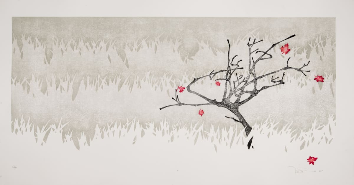 Laura Boswell Maple, 2017 Japanese Woodblock Print 40.5 x 79 x 3.5 cm 16 x 31 1/8 x 1 3/8 in Edition 1 of 30