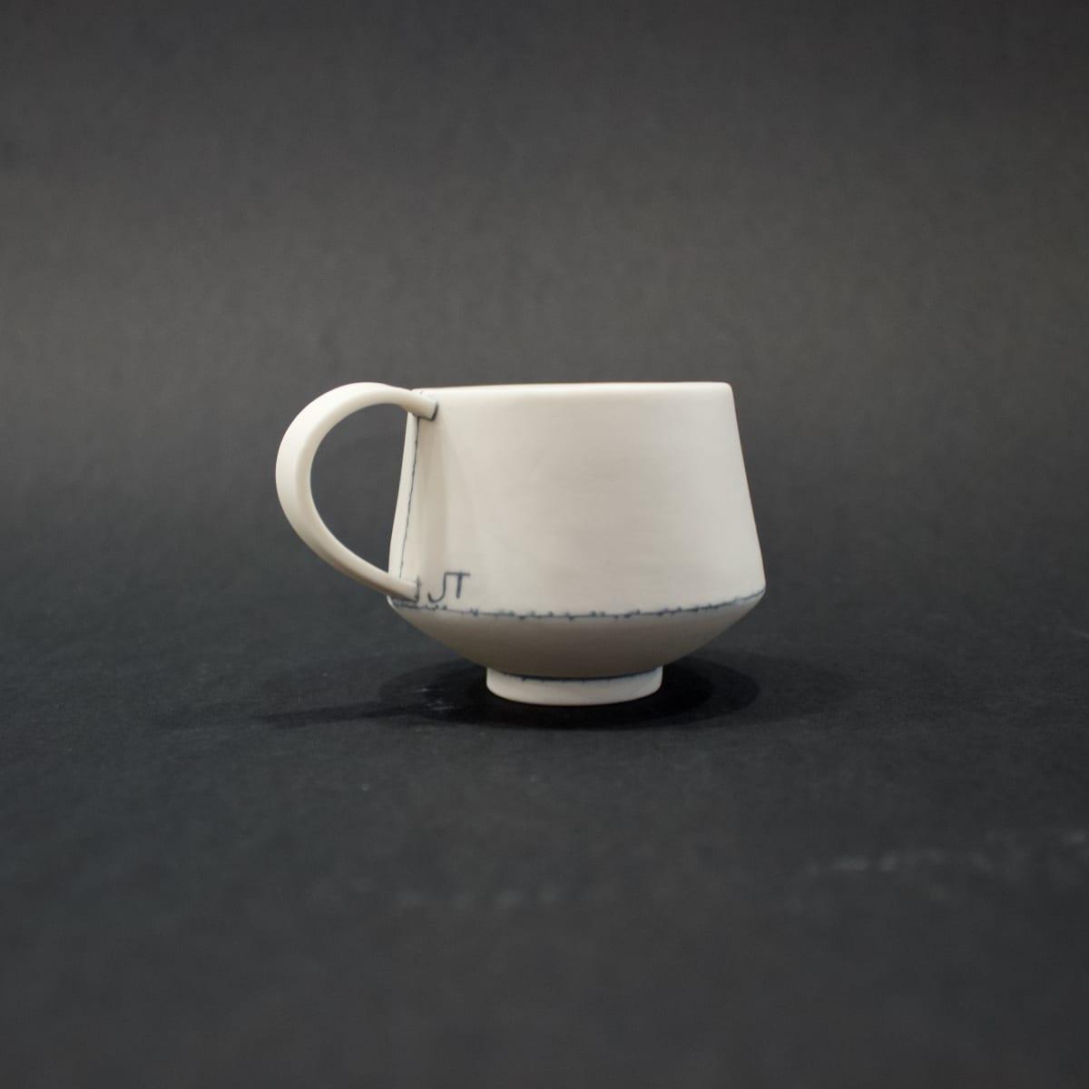 Jessica Thorn Espresso Cup, 2019 Porcelain 6 x 9 x 6 cm 2 3/8 x 3 1/2 x 2 3/8 in