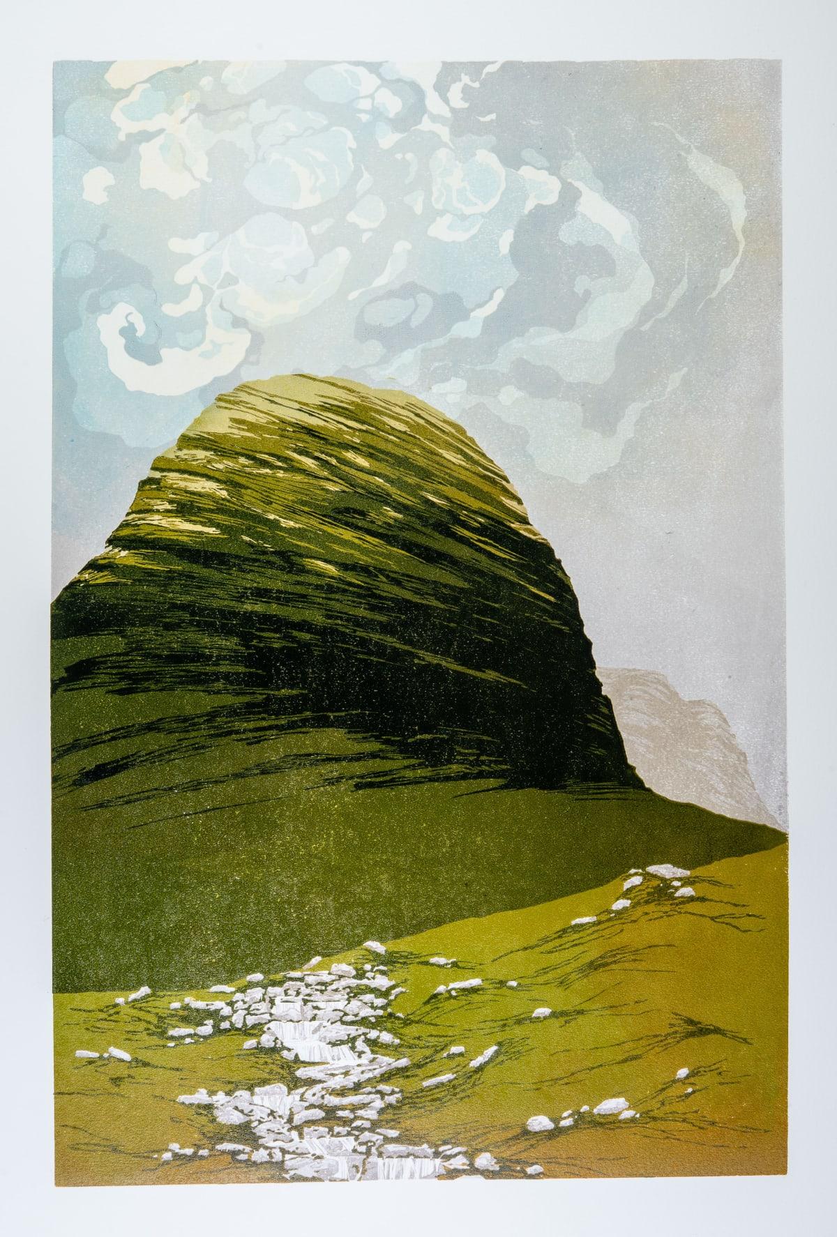 Laura Boswell Skye Light, 2018 Linocut 56 x 36.5 x 2 cm 22 1/8 x 14 3/8 x 3/4 in Edition 2 of 10
