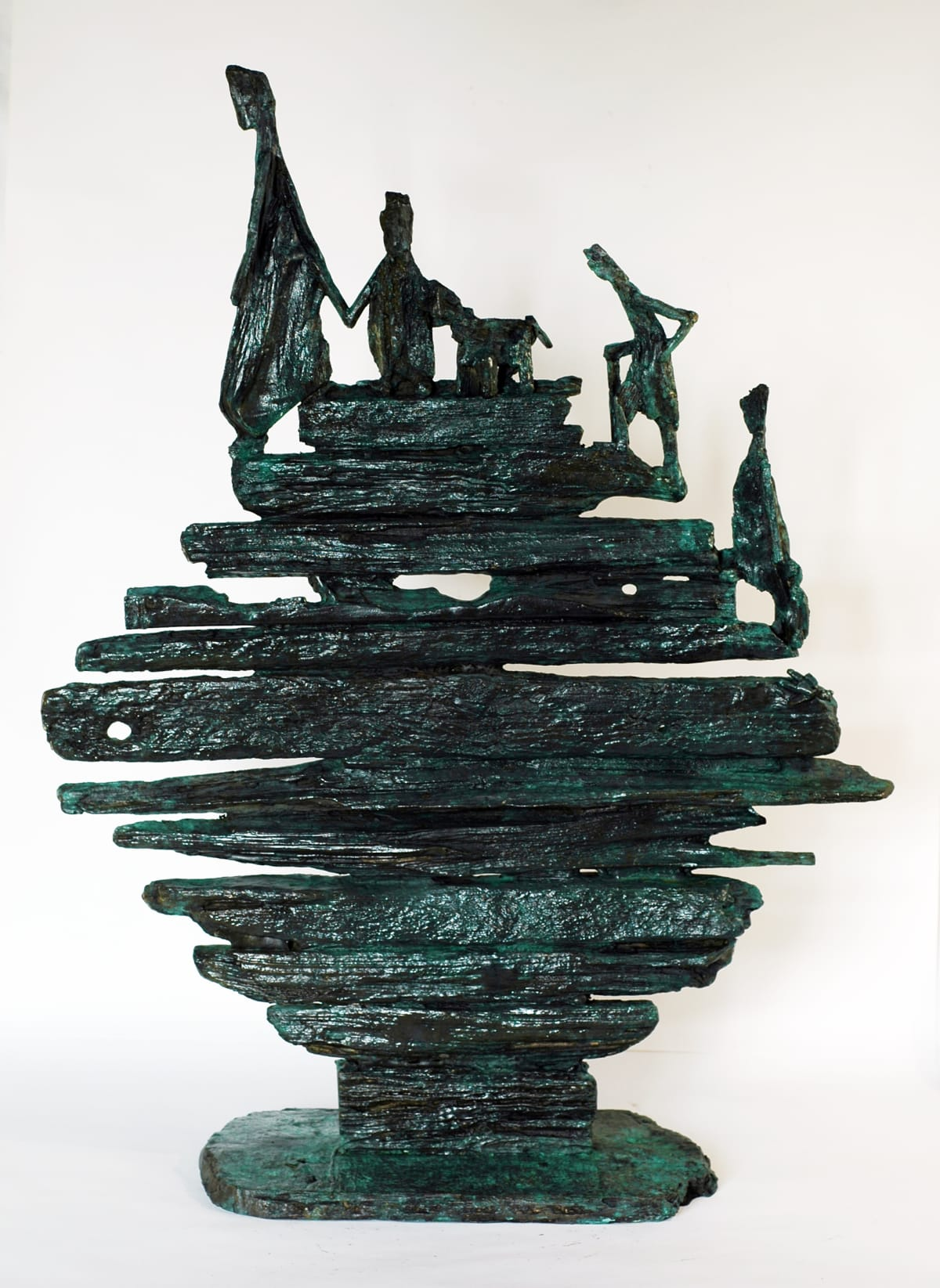 Helen Sinclair The Journey, 2017 Bronze Sculpture 66 x 51 x 19 cm 26 x 20 1/8 x 7 1/2 in Edition 5 of 9