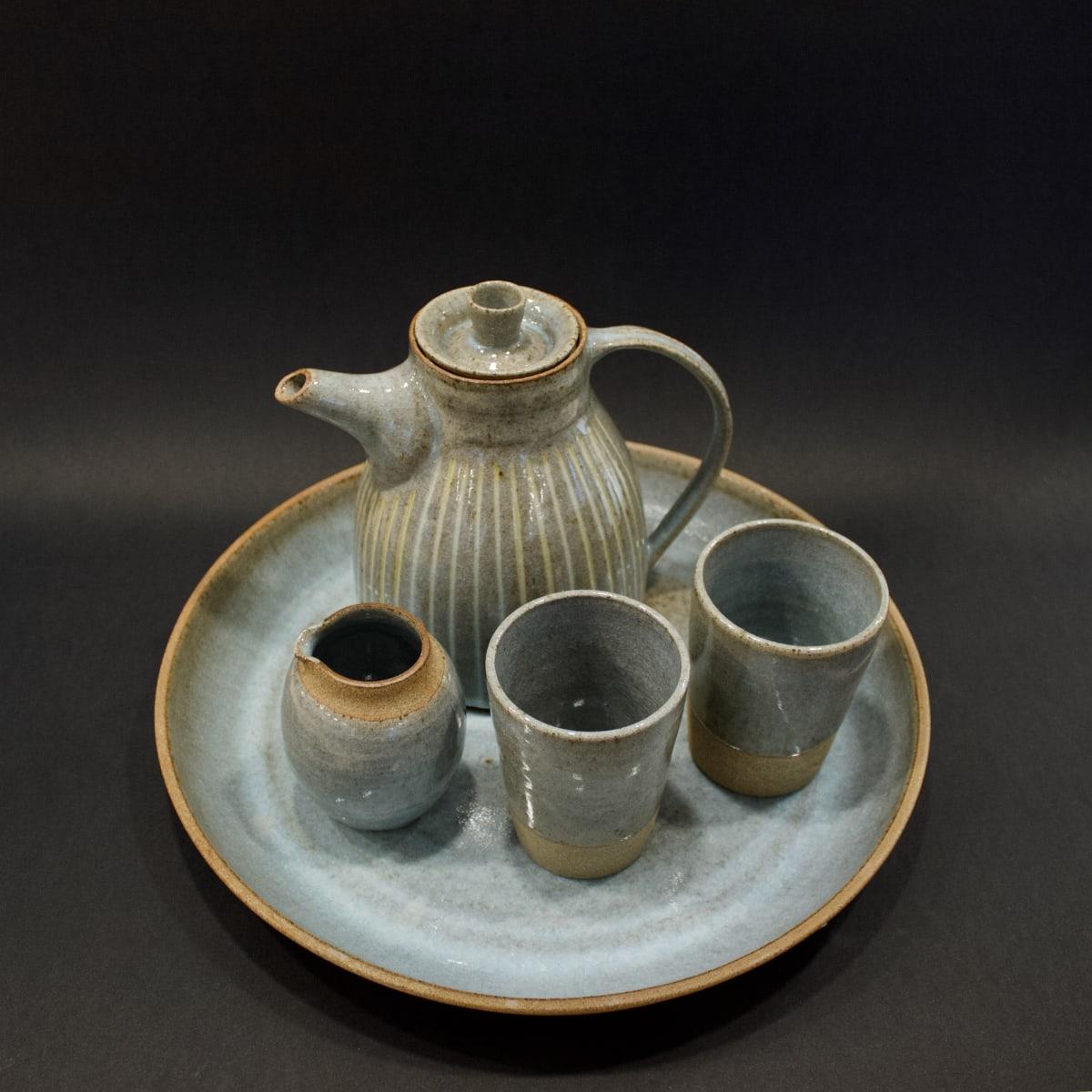 Kate Garwood Teaset, 2019 Ceramic 18 x 32 x 32 cm 7 1/8 x 12 5/8 x 12 5/8 in