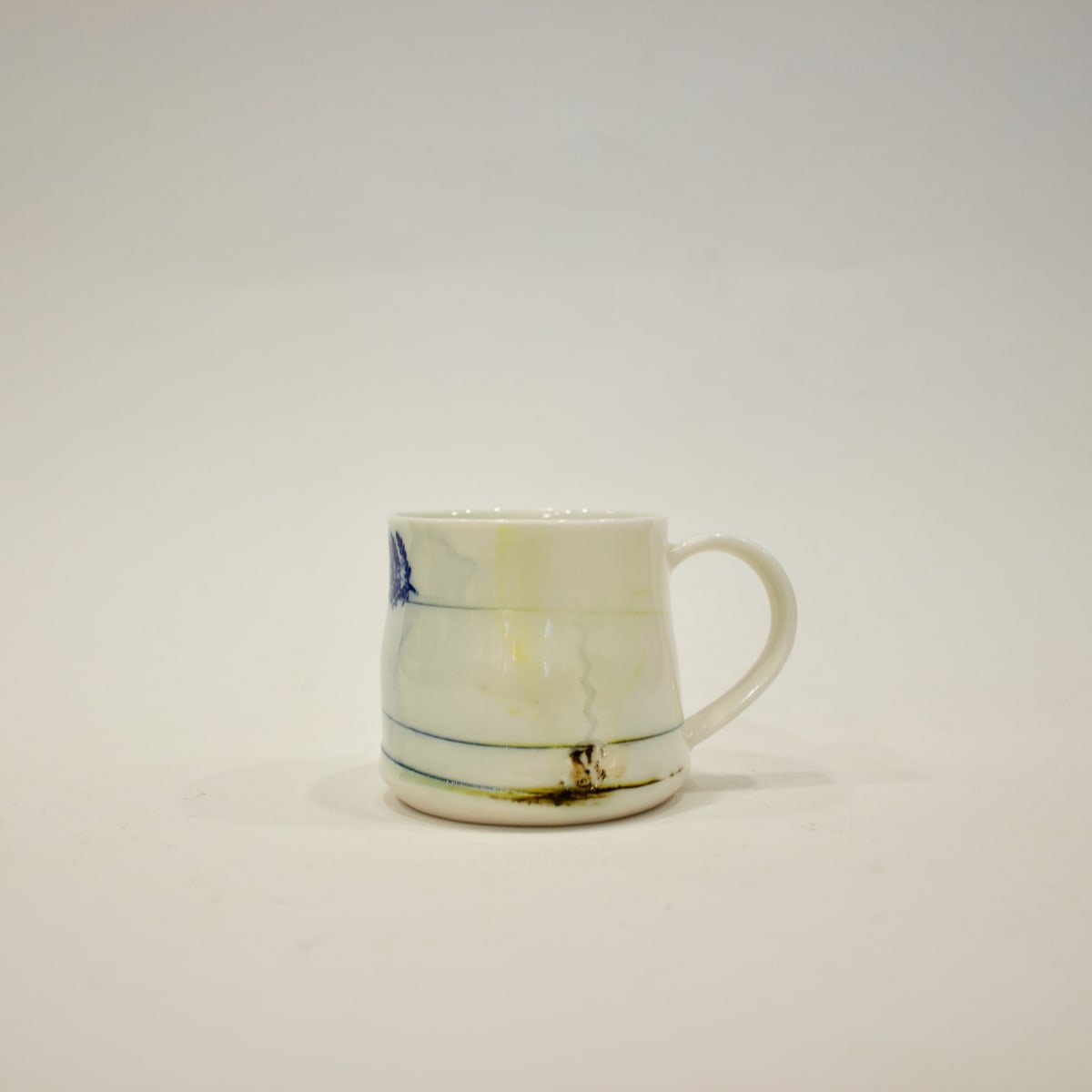 Helen Harrison Oxide Decal Espresso Cup, 2019 Porcelain 8 x 9 x 8 cm 3 1/8 x 3 1/2 x 3 1/8 in