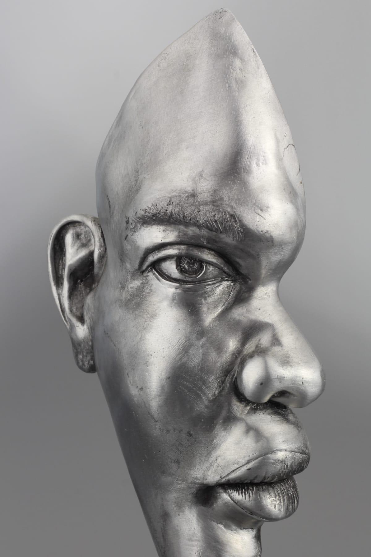 Mirek Brandejs Mask 1, 2018 Aluminium Sculpture 34 x 10 x 10 cm 13 3/8 x 4 x 4 in Edition 1 of 25
