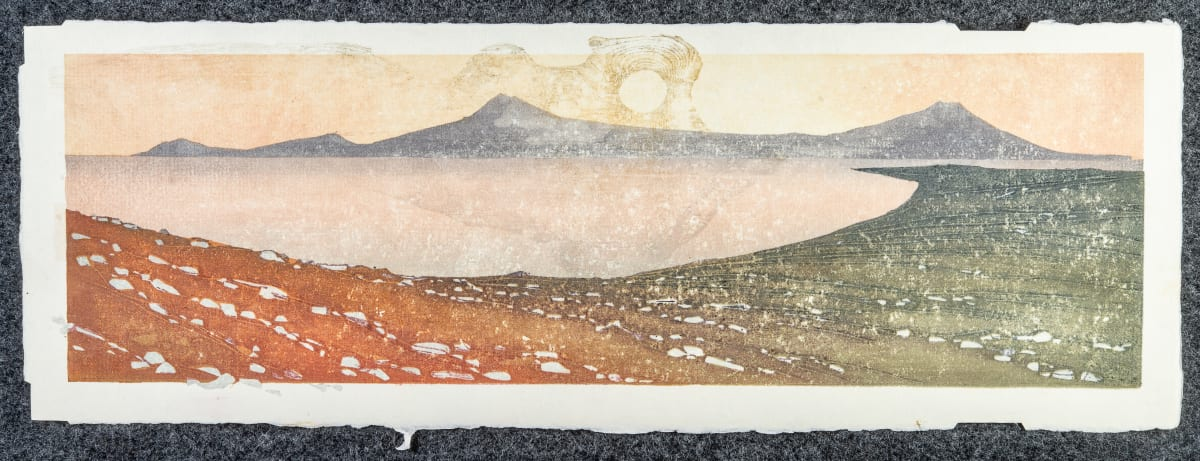 Laura Boswell Near Applecross, Evening Glow, 2019 Japanese Woodblock Print Edition 1 of 1