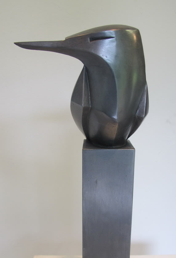 Paul Harvey Kingfisher, 2019 Mixed Media Sculpture Mixed Metals Resin 30 x 11 x 6 cm 11 3/4 x 4 3/8 x 2 3/8 in Open Edition