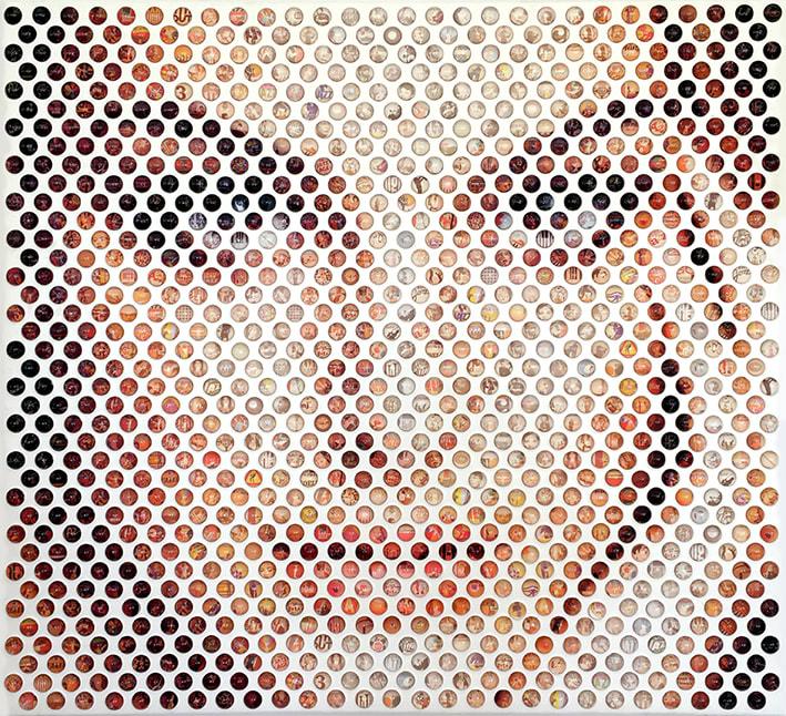 Nemo Jantzen, Pop Icons IV (Natalie Portman), 2017