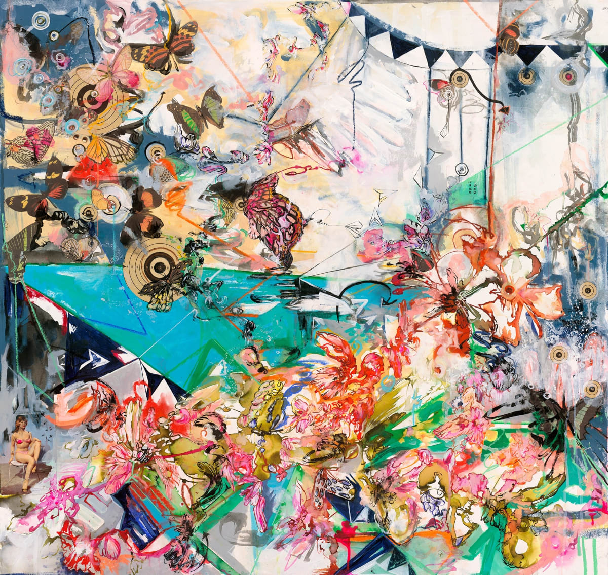 Antoinette Wysocki, The Elements Are Camouflaged, 2016