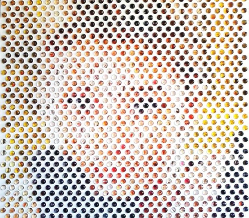 Nemo Jantzen, Pop Icons VII (Audrey Hepburn), 2017
