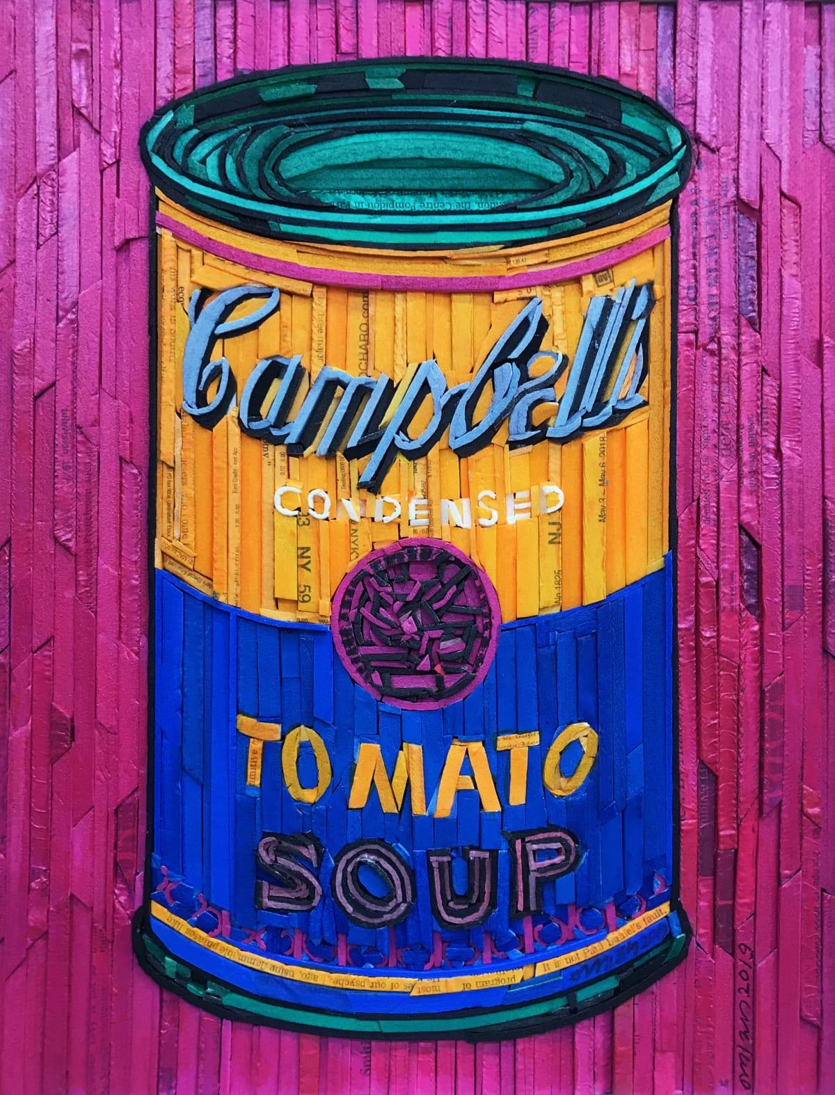Kyu-Hak Lee, Monument - Campbells Soup (Orange & Blue), 2019