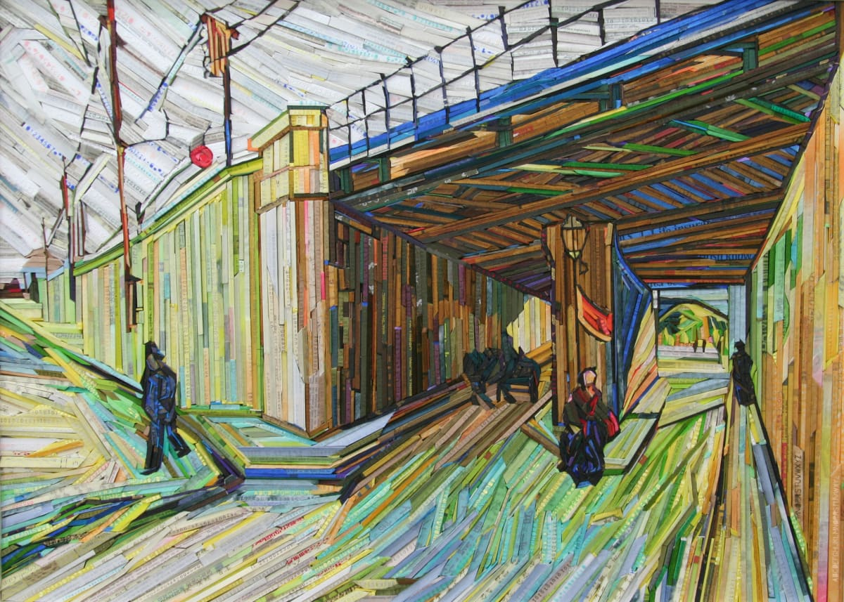 Kyu-Hak Lee, Monument- Railway Bridge, 2013