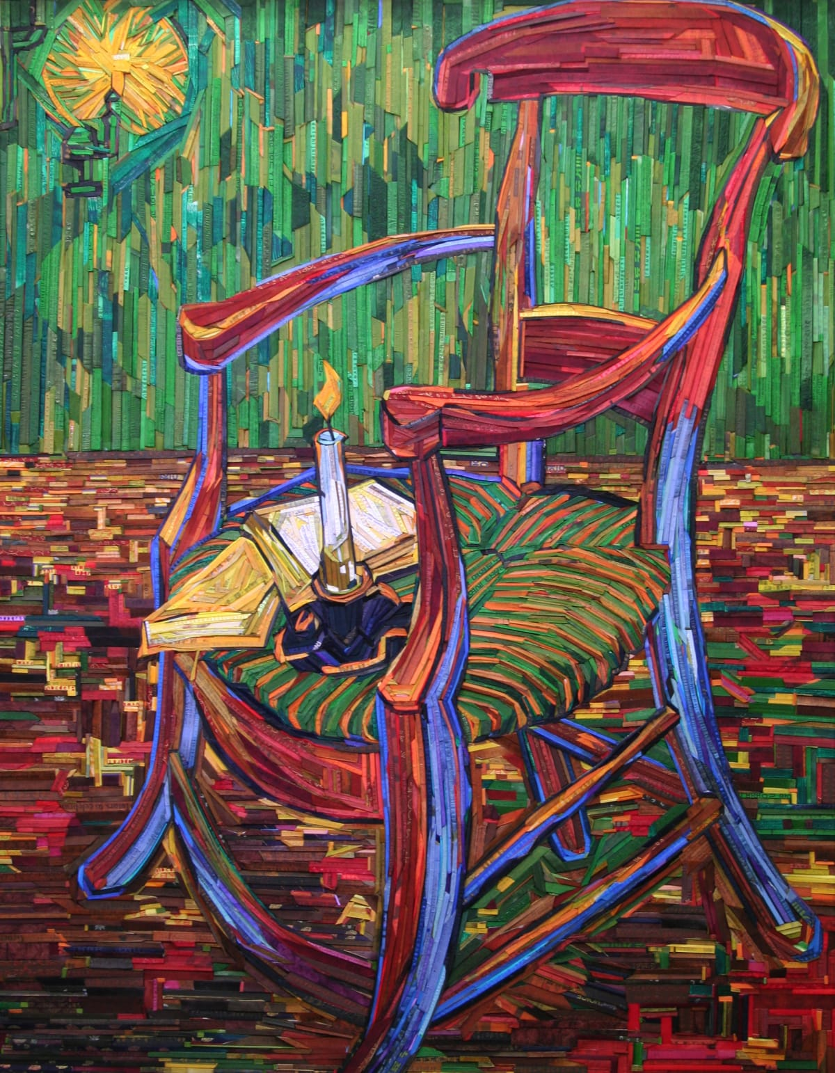 Kyu-Hak Lee, Monument- Gauguin's Chair #5, 2017