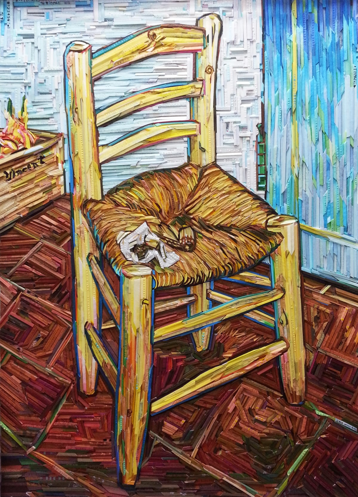 Kyu-Hak Lee, Monument- Gogh's Chair #5, 2017