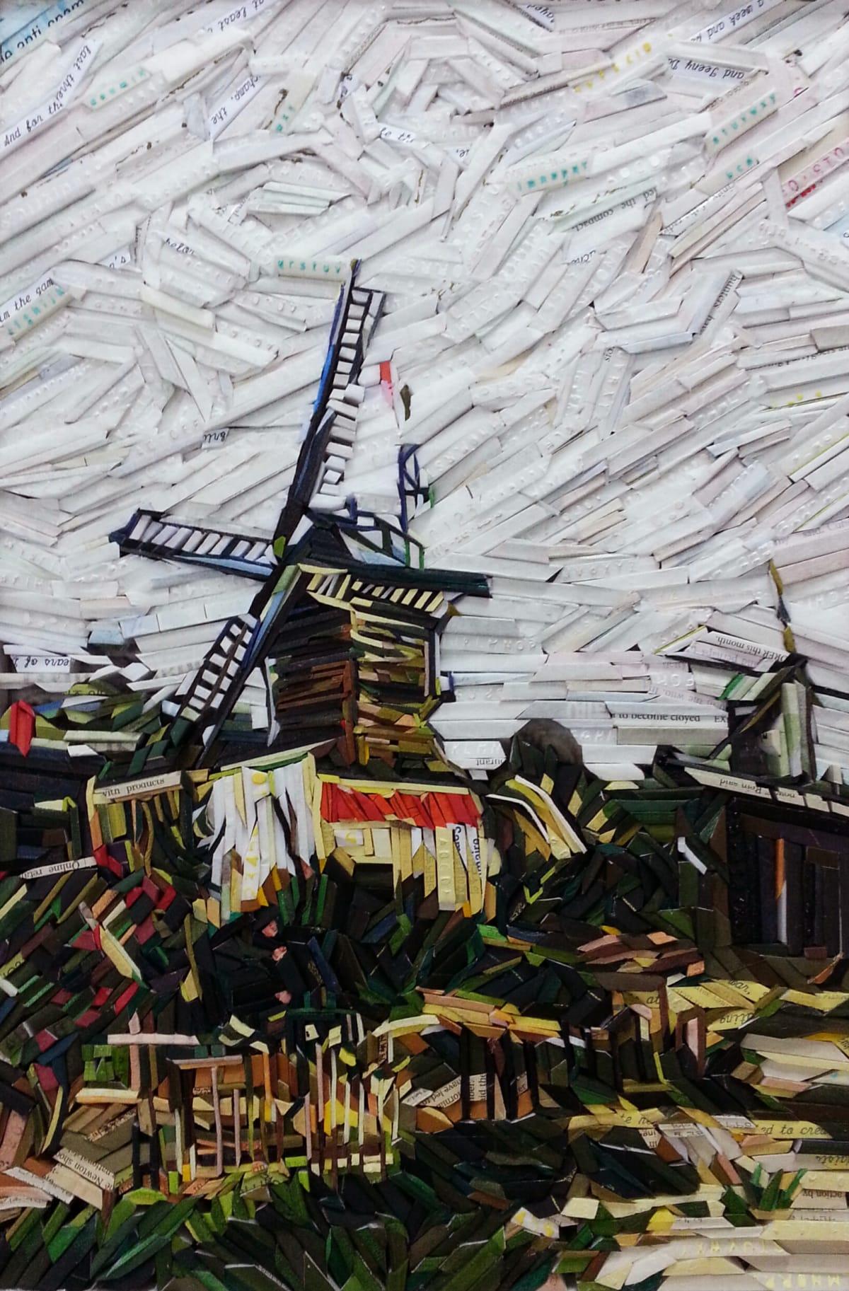 Kyu-Hak Lee, Monument - Le Moulin de Blute Fin Mill, 2015