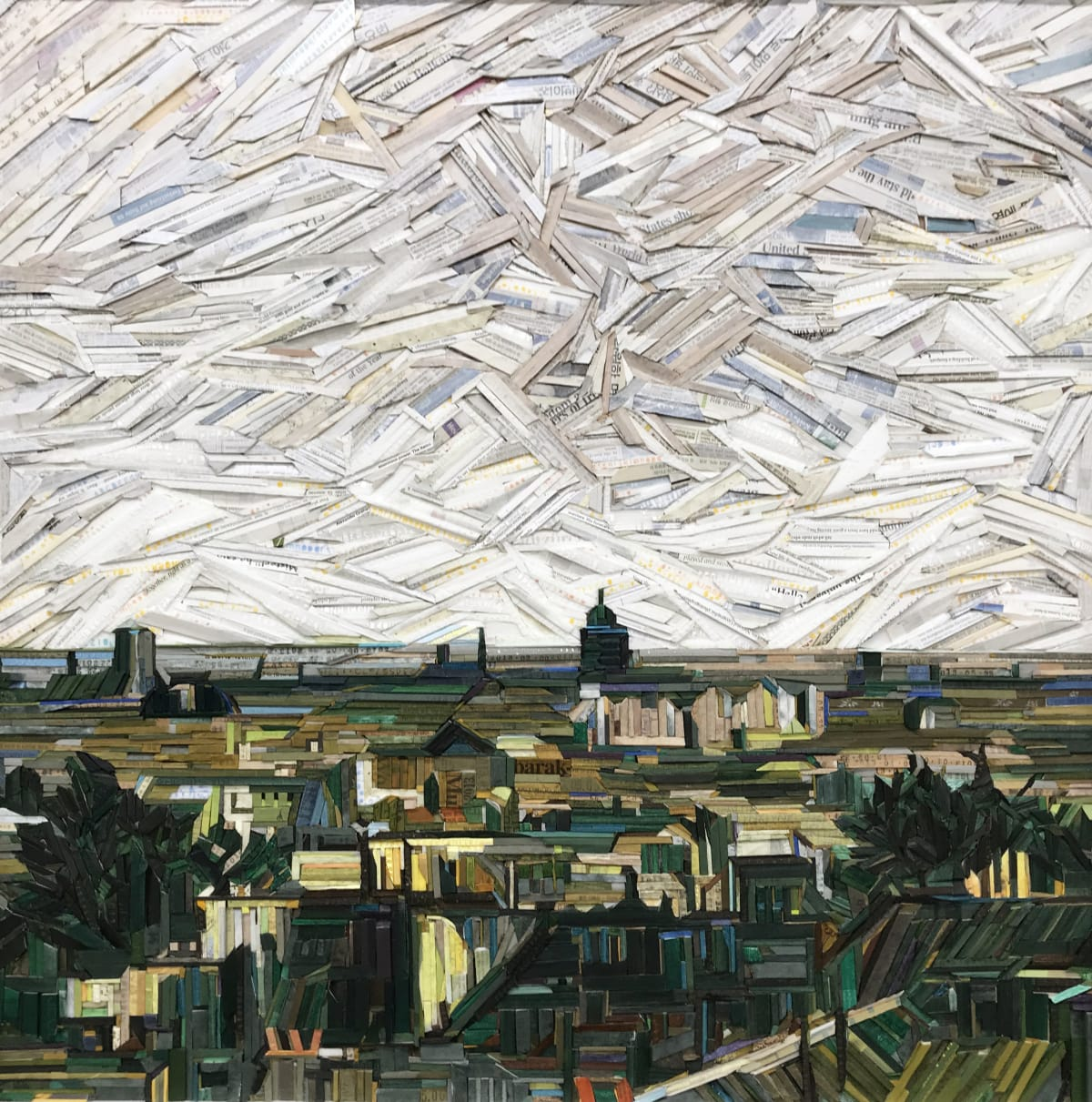 Kyu-Hak Lee, Monument - View of the Roofs of Paris, 2013