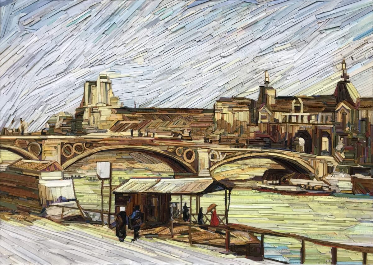 Kyu-Hak Lee, Monument - Pont du Carrousel and the Louvre, 2013