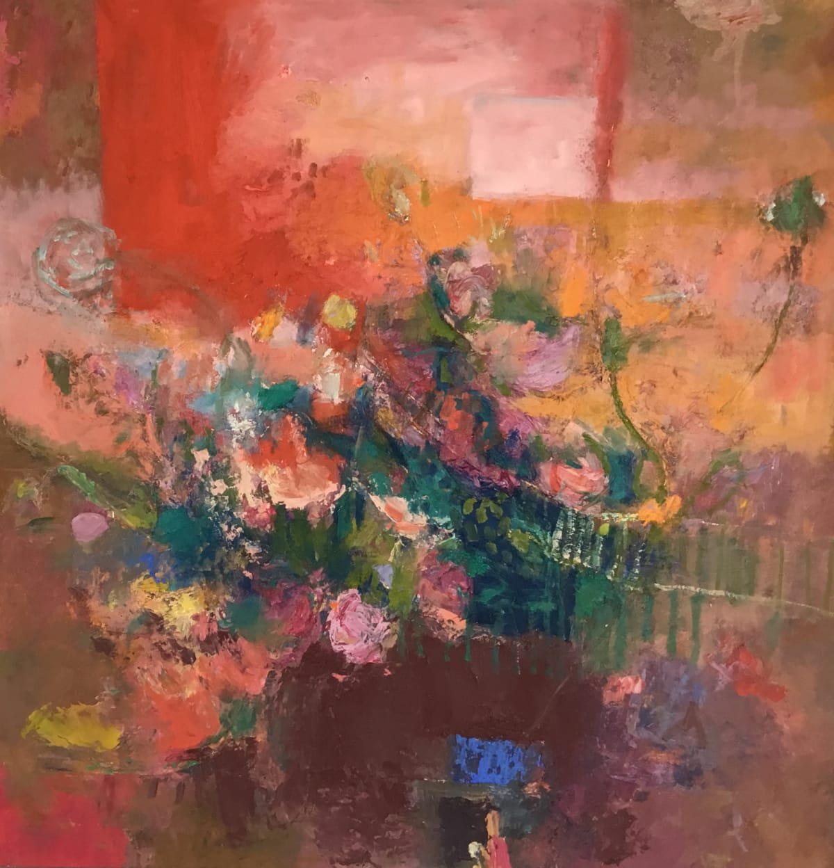 Teresa Pemberton, Summer Roses, 2019