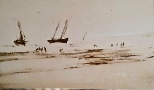 Anthony Amos, Fishing Boats Coming Ashore