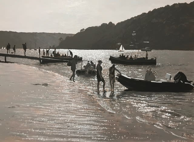 Greg Ramsden, The Salcombe Ferry, Fishermans Cove, 2019