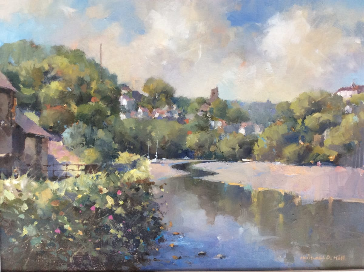 Michael Hill, From Bridgend. Noss Mayo, 2019