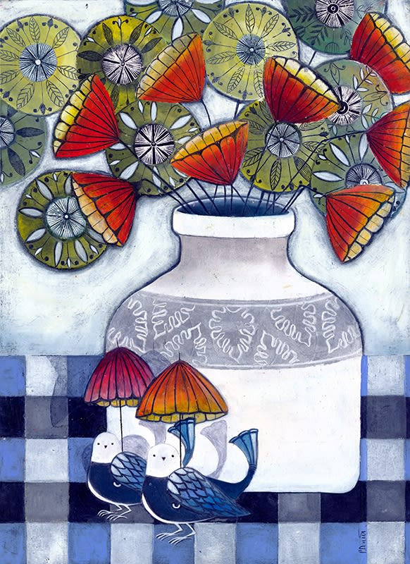 Patricia Davies, Under the Umbrellas, 2019