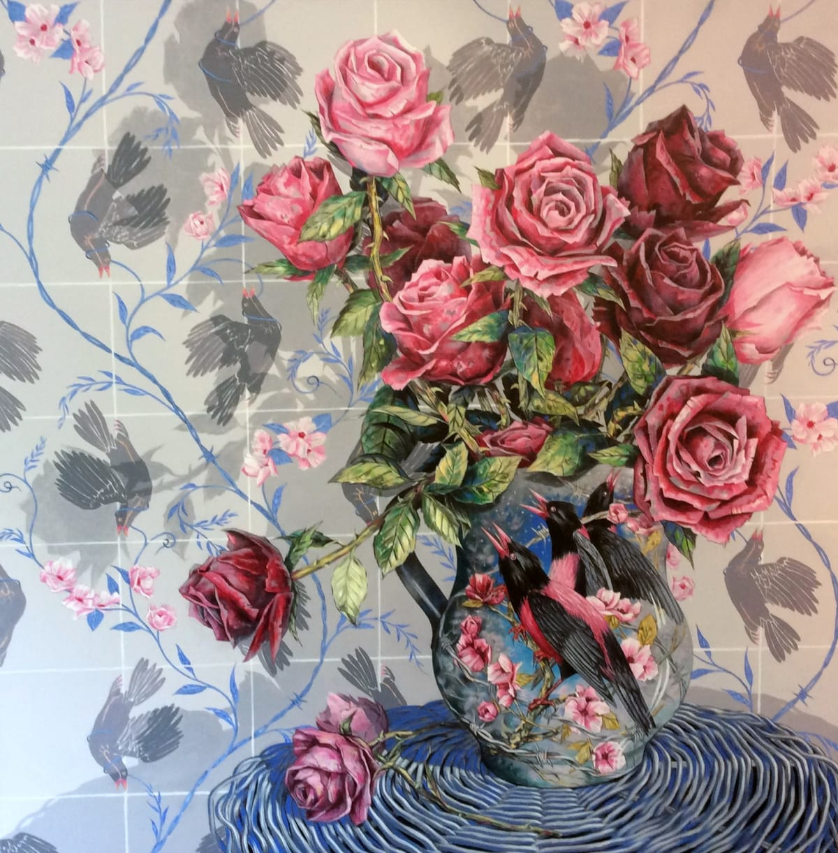 John Grice, Bed of Roses, 2019