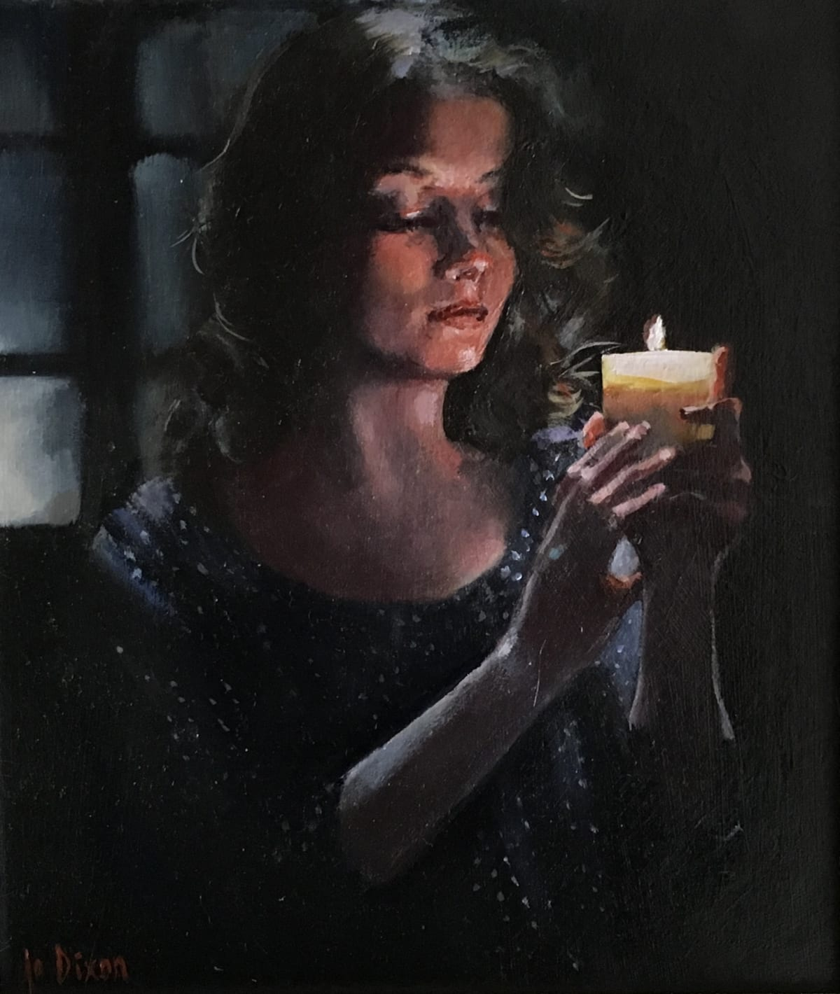 Jo Dixon, By Candlelight, 2019