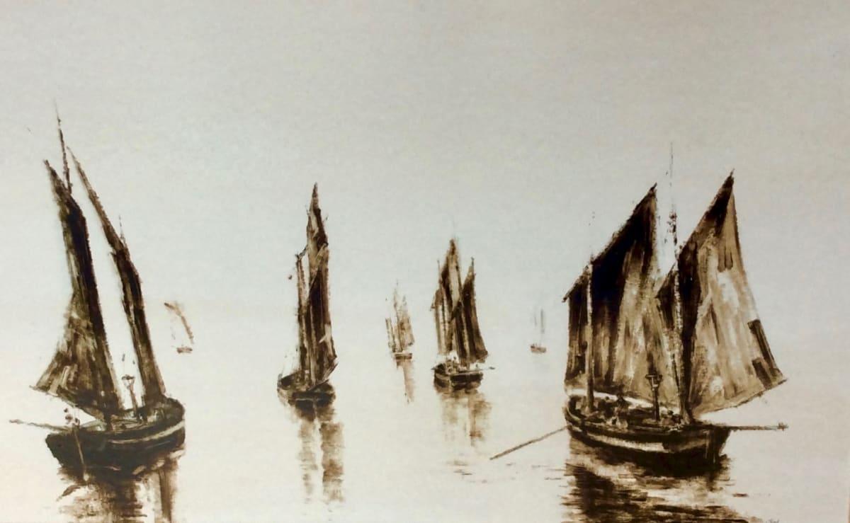 Anthony Amos, Fishing Fleet under sail