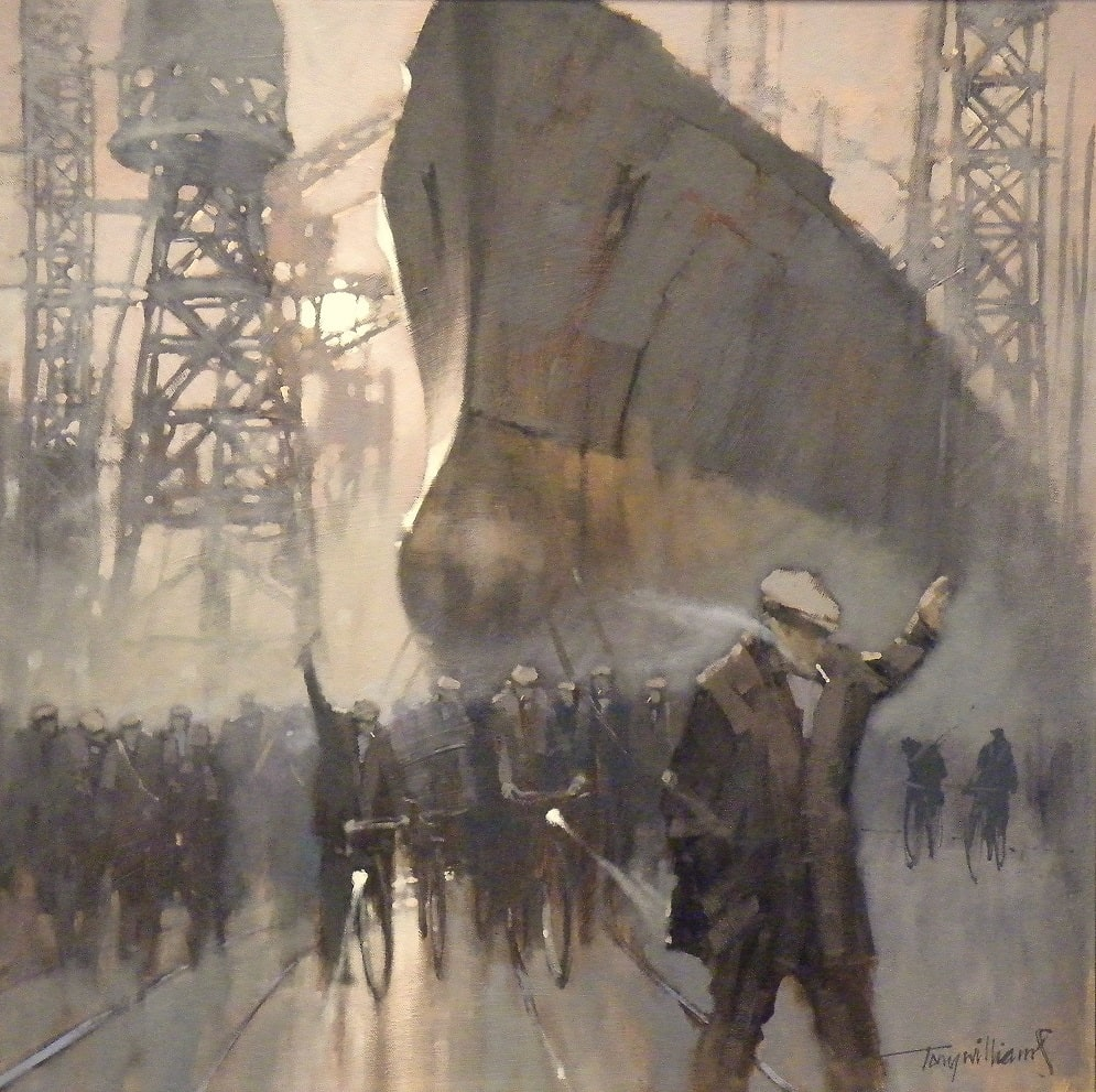 Tony Williams, Leaving the Shipbuilders, 2019