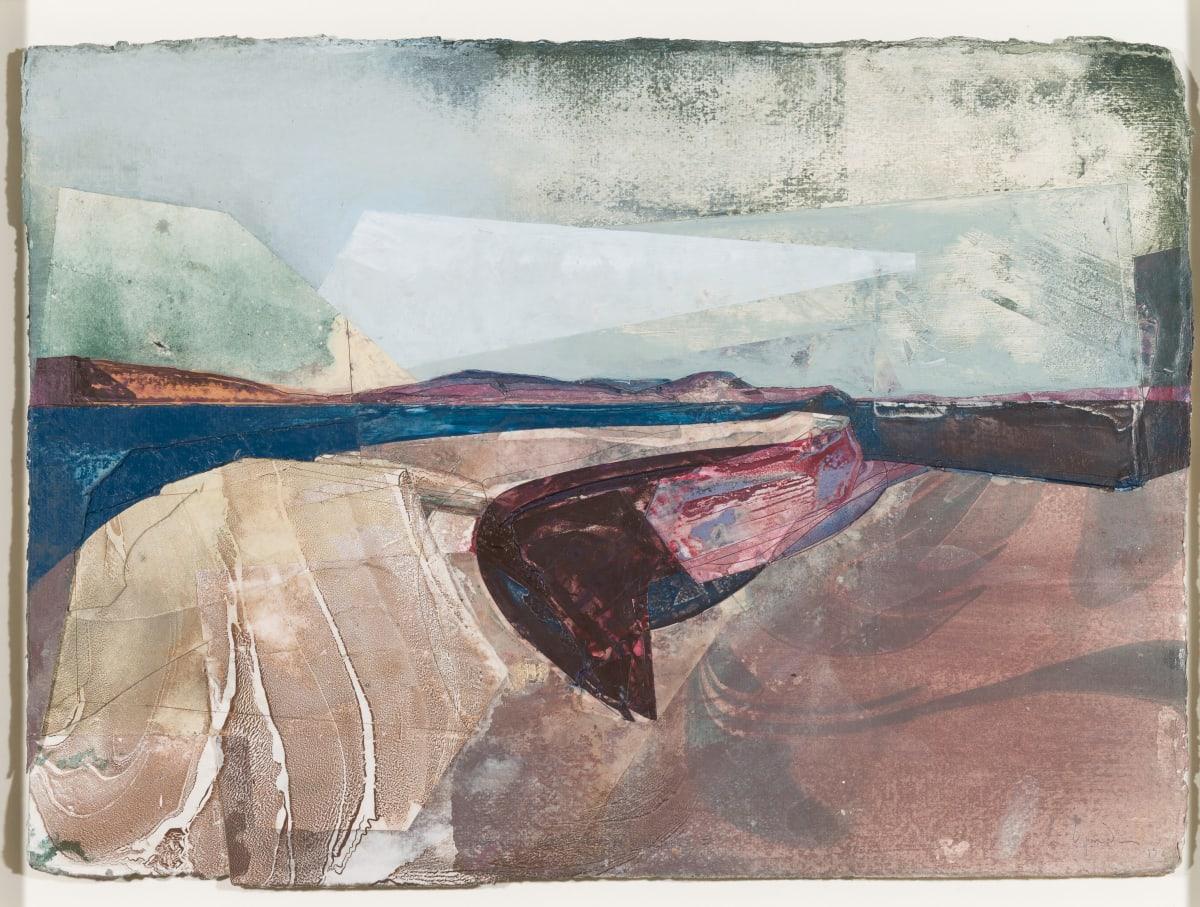 Jeremy Gardiner, Golden Cap from the Cobb, Lyme Regis, 2019