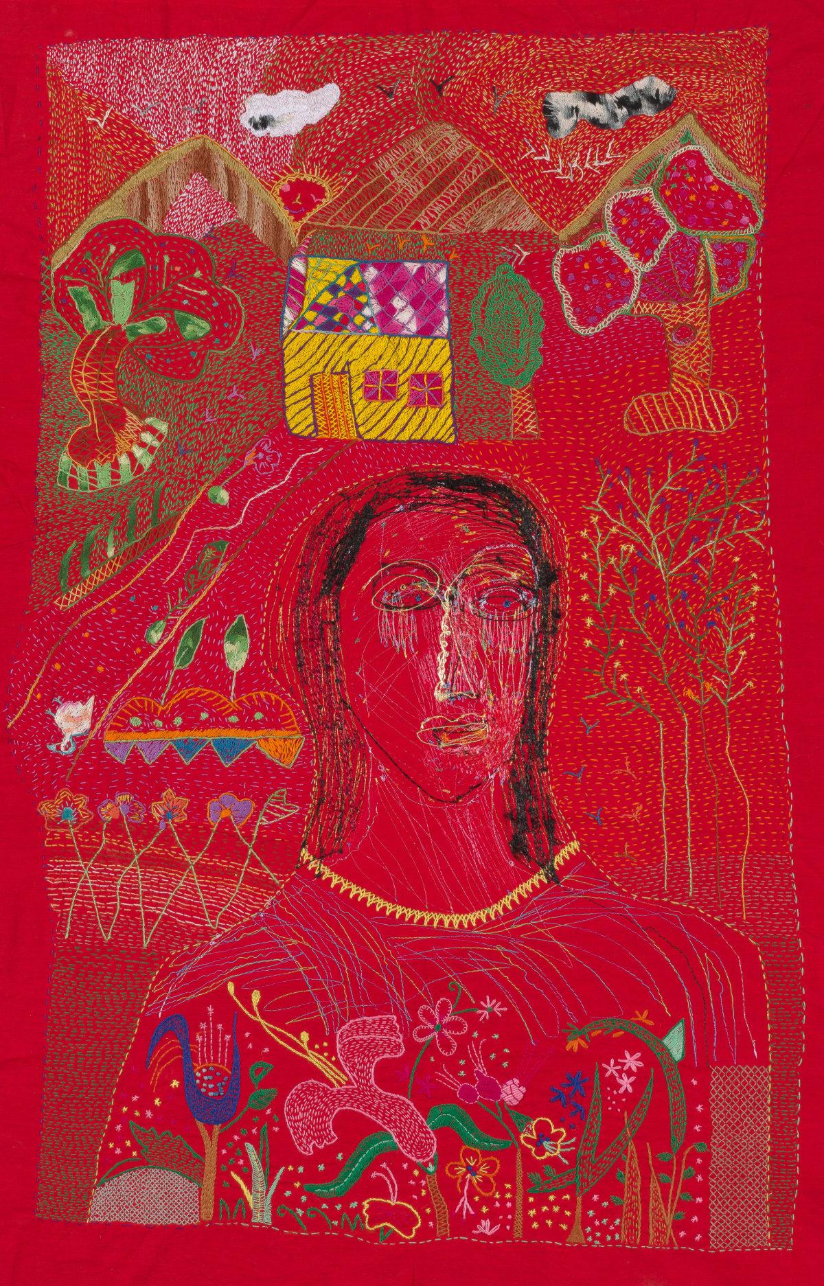 Alice Kettle, Karachi Woman II, 2019