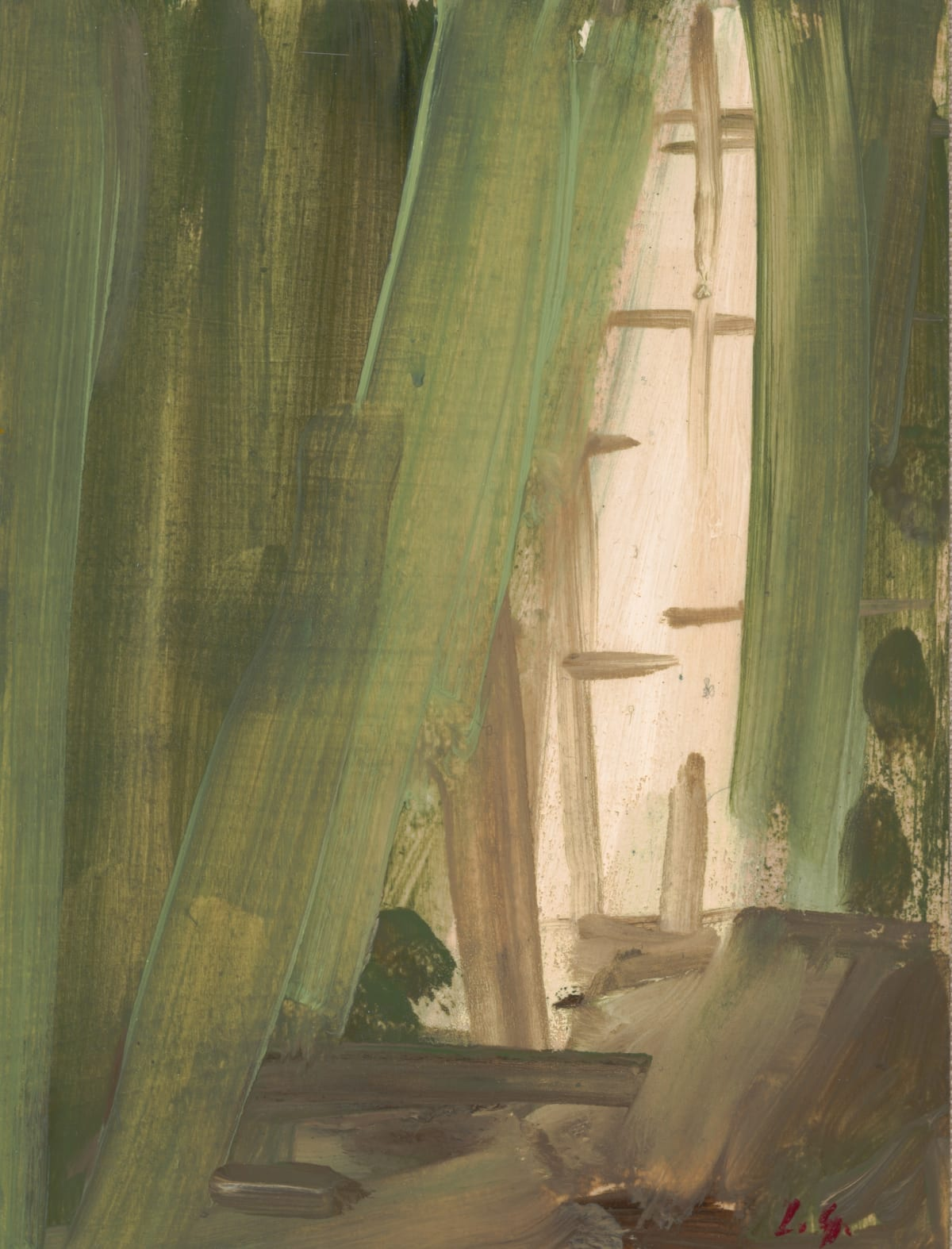 Lindy Guinness, Wind in the Willows II, 2020