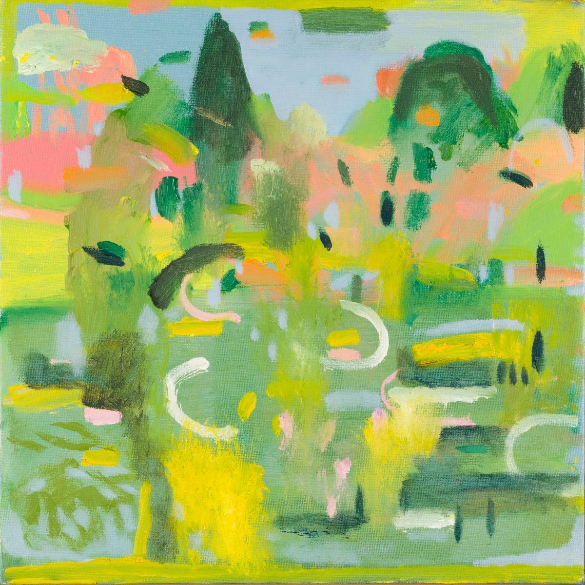 Katie Sollohub, Sheffield Park Pink, Green, Yellow, 2015