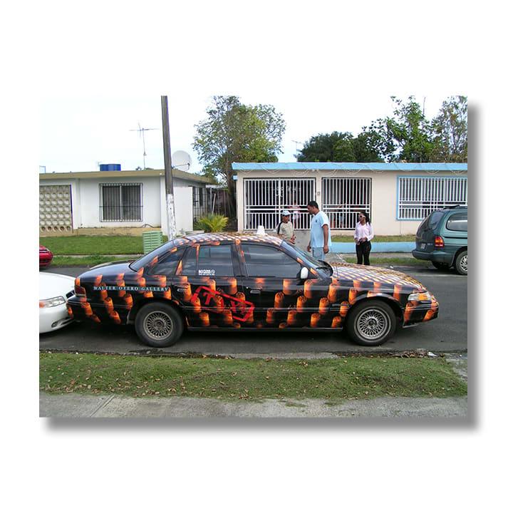 En La Arena Sabrosa, (Taxi project commission, Puerto Rico), 2005