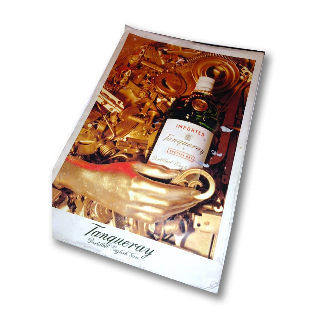 Assemblages: Tanqueray Ad, (commission art for calendar), 1992