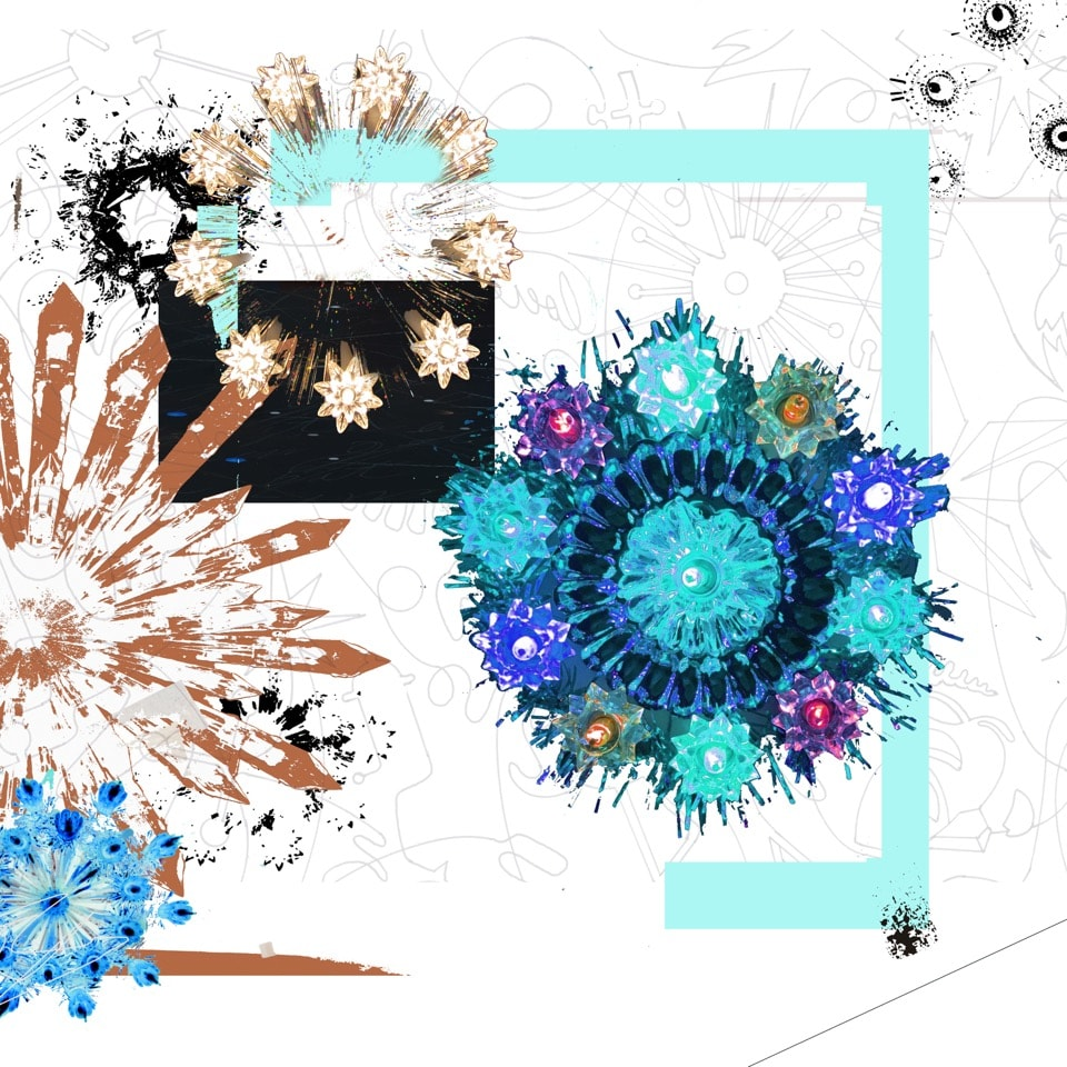 Carlos Betancourt The Future Eternal XIV, 2018 Pigmented inkjet on fine art paper 36x36 Series: future eternal