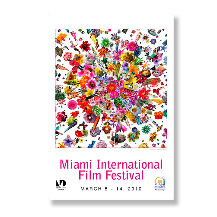 Miami Film Festival (poster commission), 2010