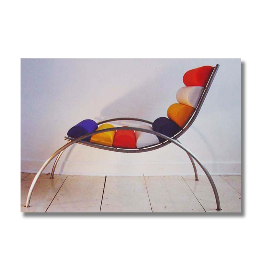 La Silla Centrust (Florida Style Competition overall winner), and other furniture, 1980's-1990's